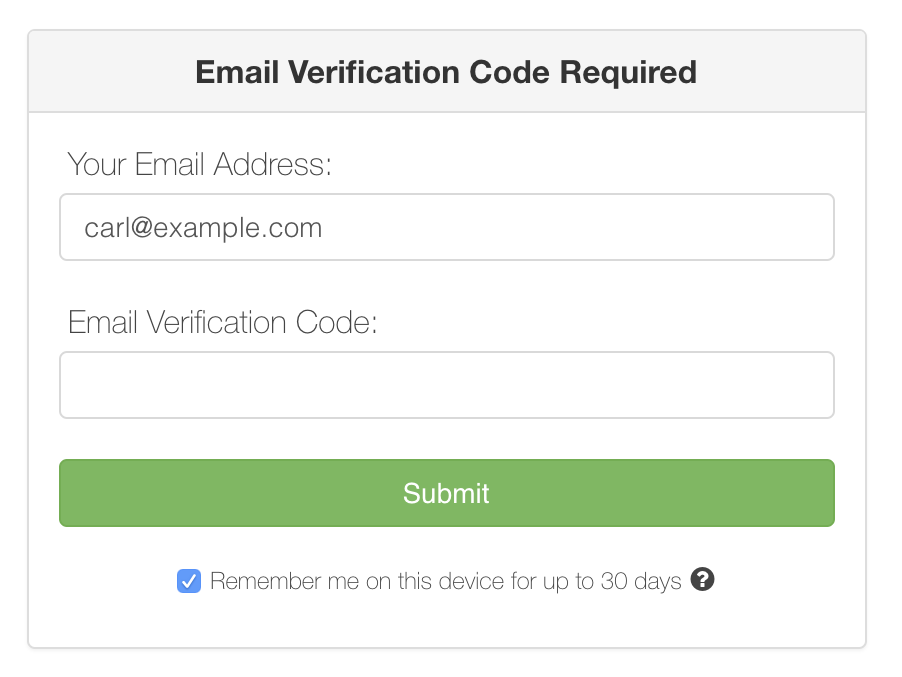 Email Verification Code Prompt-1