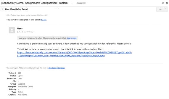 Support Portal Widget